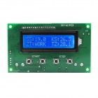 XGHF-1602-26-LCD-Digital-Thermostat-w-Blue-Backlight-Green-(DC12V)