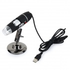 Universal 800X 8.0MP USB Wired Digital Microscope w/ 8-LED / Mount Holder - Black