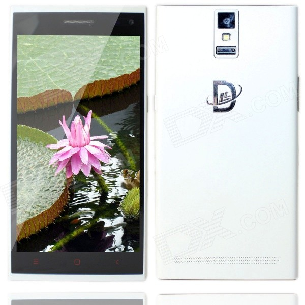 "DELION D10 Android 4.4 Quad Core 3G Smartphone w/ 5.5"", 8GB ROM, Intelligent Wake Up, OTG, Touch ID"