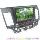 "LsqSTAR ST-8460C 7"" Android Car DVD Player w/ 8GB ROM, 1GB RAM, GPS, FM, Wi-Fi for Mitsubishi Lancer"