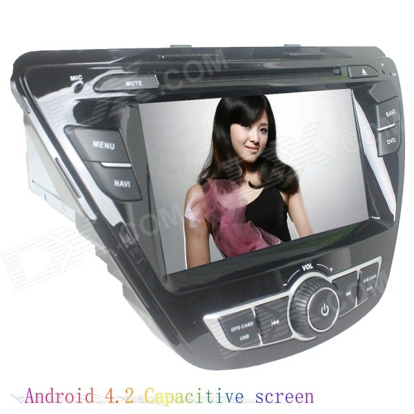 """LsqSTAR ST-9079C 7"""" Android Car DVD Player w/ 1GB RAM / 8GB ROM / GPS / Wi-Fi for Hyundai Elantra"""
