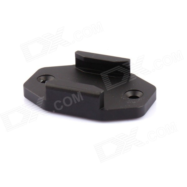 PANNOVO G-757 CNC Fixing Connect Mount for GoPro Hero 2 / 3 / 3+ / 4 / Keymod - Black