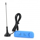 USB DVB-T + FM + DAB Mini Digital TV Stick Receiver - Blue