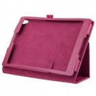 ENKAY Simple Style Protective PU Leather Case w/ Stand for Google Nexus 9 - Deep Pink
