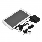 "P380 7"" Android 4.2.2 Dual-Core GSM Tablet PC w/ 4GB ROM, Dual-SIM, GPS - White + Silver"