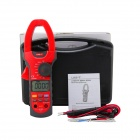 "UNI-T UT208A 1000A 2.2"" LCD Digital Clamp Meter - Deep Grey + Red (1 x 6LF22)"