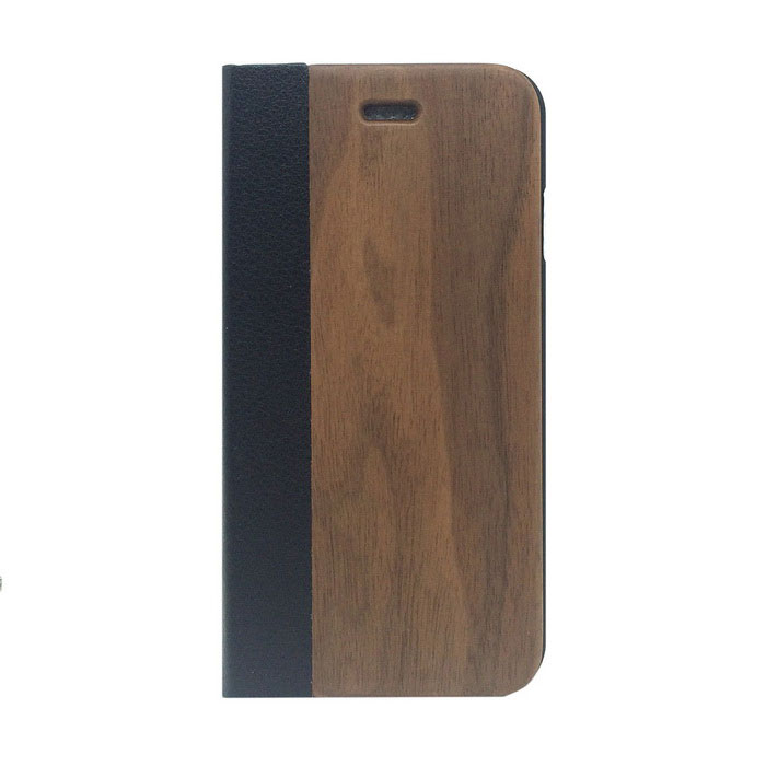 Protective PU Leather + PC + Wooden Case for IPHONE 6 4.7- Wooden + BlackOther Cases<br>Form  ColorWood + BlackModelL-I6-AQuantity1 DX.PCM.Model.AttributeModel.UnitMaterialWoodShade Of ColorBrownCompatible ModelsOthers,IPHONE 6 4.7StyleFlip OpenDesignMixed ColorAuto Wake-up / SleepNoPacking List1 x Case<br>