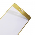 Protective 9H Tempered Glass Full Screen Guard Protector + Back Sticker for IPHONE 6 - Golden