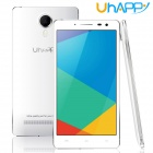 "Uhappy UP620 Android 4.4 MTK6592 Octa-Core 3G Bar Phone w/ 5.5""qHD, 8GB ROM, 8.0MP, OTG, GPS - White"