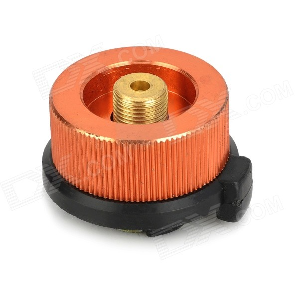 Outdoor Stove Burner Conversion Head Adapter for Long Gas Tank -Bronze