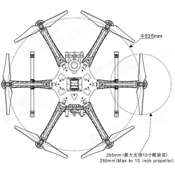 Hexacopter Wiring Diagram