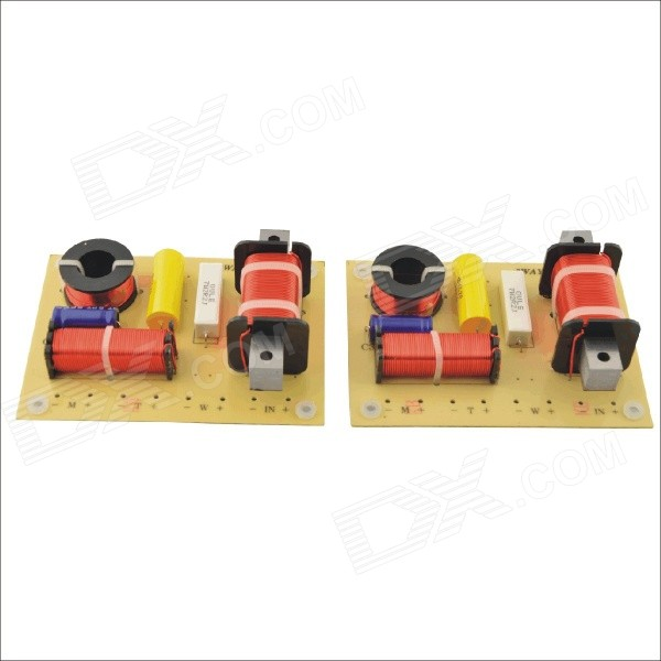 OL-3B 180W Hi-Fi Crossover Filters Frequency Divider for 3-Way Speaker System Audio (2 PCS)