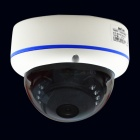 "BN-FE360DV/IR 1/3"" CCD 700TVL 180 Degrees Wide Angle Fisheye CCTV Camera w/ 15-IR-LED - White"