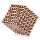 5mm-Neocube-Magnetic-Balls-Beads-Sphere-Cube-Toy-Gold-(343-PCS)