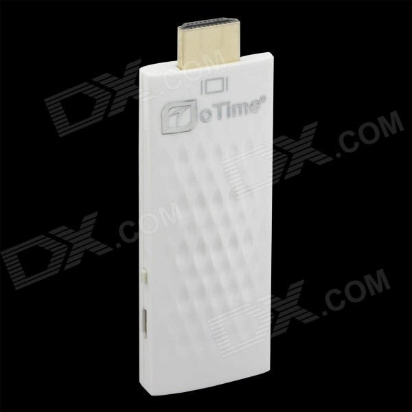 OTIME OT-AD01 Wi-Fi Display Airplay Miracast Adapter for Smartphones - White