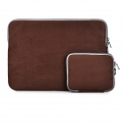 Protective-Faux-Suede-Sleeve-Bag-2b-Small-Accessory-Bag-Set-for-133-MacBook-Air-Pro-Retina-Coffee