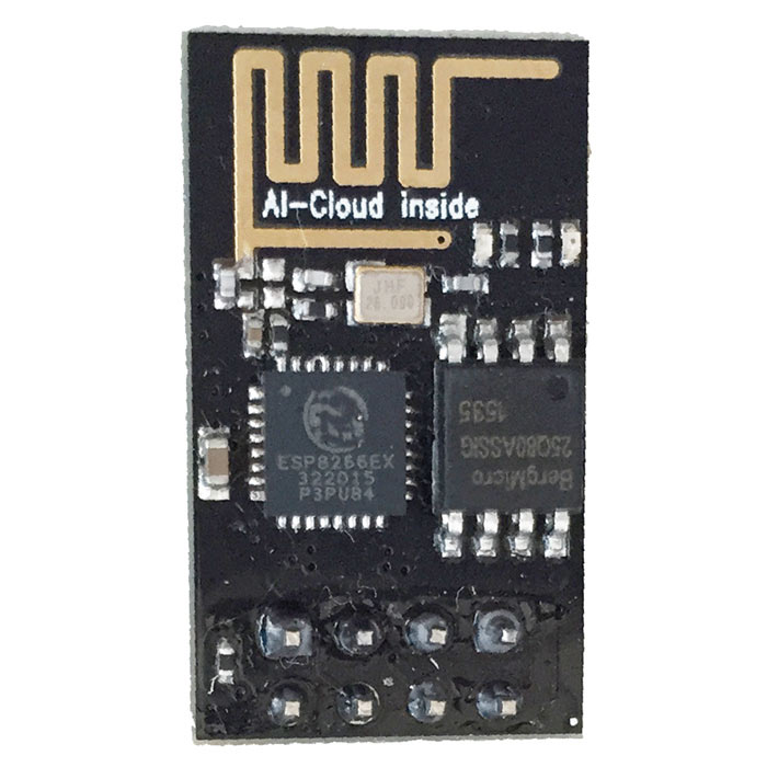 Wi-Fi Wireless Serial Port Data Transceiver Module - Black