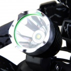 kinfire K11 XM-L T6 600lm 3-Mode Cold White Light Headlamp + Car Charger - Black + Grey White