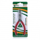 BEST BST-13 High-Quality Alloy Steel Needle-Nose Pliers - Red + Silver