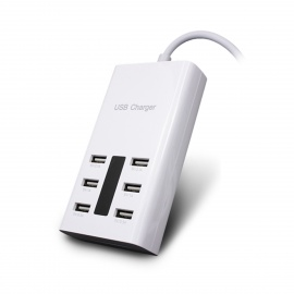 Universal-6-Port-USB-Charger-w-Switch-Indicator-for-Cellphone-2b-More-(UK-Plug100cm1107e240V)