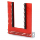 KEYES SMP0047 U-Shaped GPIO Breadboard Expansion Board - Red
