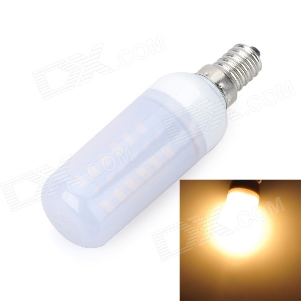Marsing E14 Frosted Cross 8W 800lm 48*SMD 5730 Warm White Light Bulb