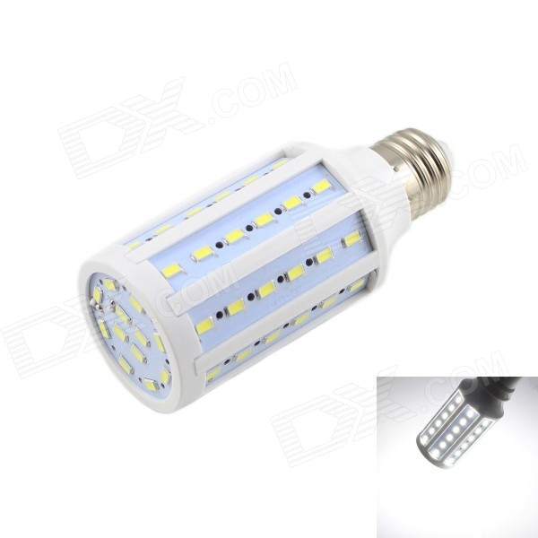 KINFIRE E27 15W LED Neutral White Light Corn Bulb (AC 220V)E27<br>Form  ColorWhiteColor BINNeutral WhiteModelY-15WMaterialPCQuantity1 DX.PCM.Model.AttributeModel.UnitPowerOthers,15WRated VoltageAC 220 DX.PCM.Model.AttributeModel.UnitConnector TypeE27Chip BrandOthers,N/AChip TypeLEDEmitter TypeOthers,5730 SMD LEDTotal Emitters60Theoretical Lumens1500 DX.PCM.Model.AttributeModel.UnitActual Lumens1200 DX.PCM.Model.AttributeModel.UnitColor Temperature5000KDimmableNoBeam Angle180 DX.PCM.Model.AttributeModel.UnitWavelengthN/APacking List1 x Corn Lamp<br>