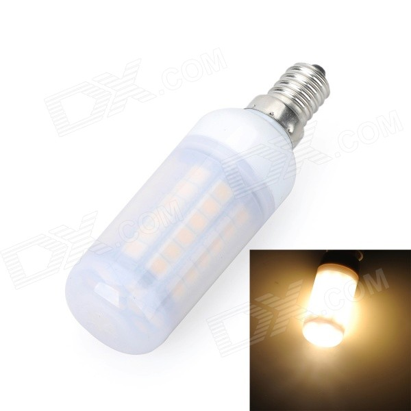 Marsing E14 Frosted 12W 700lm 69*SMD 5050 Warm White Light Corn Bulb