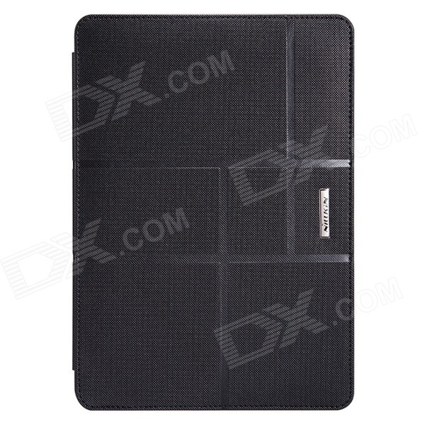 NILLKIN Elegance Series Protective PU Leather Case w/ Stand for APPLE IPAD AIR 2 - Black