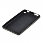 """X"" Pattern Non-Slip TPU Back Case for Amazon Kindle Fire HD 6 - Black"