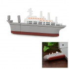 Mini Aircraft Carrier Style USB 2.0 Flash Drive - White + Grey (8GB)