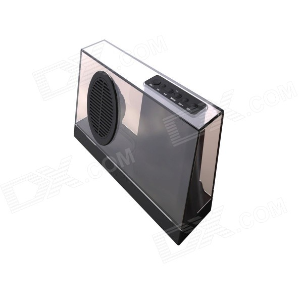 SDY033 Portable Wireless Bluetooth V4.0 Stereo Audio Speaker - Black