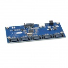 1-to-5 SATA 3.0 Hard Drive Adapter Expansion Card - Blue + Black