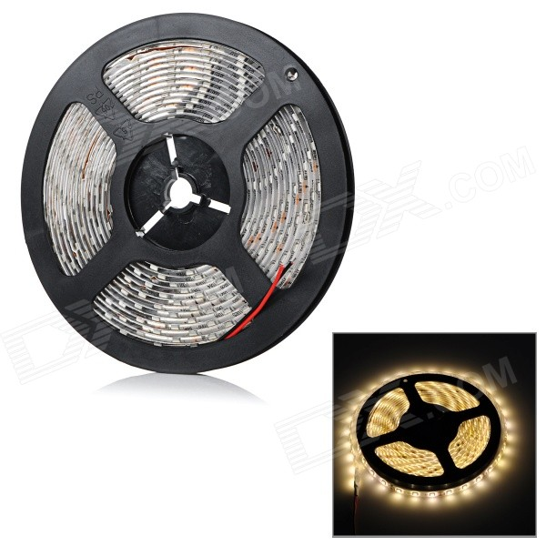 Waterproof 50W 2000lm 300-SMD 3528 LED Warm White Light Strip (500cm)3528 SMD Strips<br>Form ColorWhiteColor BINWarm WhiteModelNoMaterialAlluminumQuantity1 DX.PCM.Model.AttributeModel.UnitPowerOthers,50WRated VoltageDC 12 DX.PCM.Model.AttributeModel.UnitChip BrandOthers,N/AEmitter Type3528 SMD LEDTotal Emitters300Color Temperature2700-3500KWavelengthN/ATheoretical Lumens2000 DX.PCM.Model.AttributeModel.UnitActual Lumens2000 DX.PCM.Model.AttributeModel.UnitPower AdapterOthers,WiredPacking List1 x LED strip light<br>