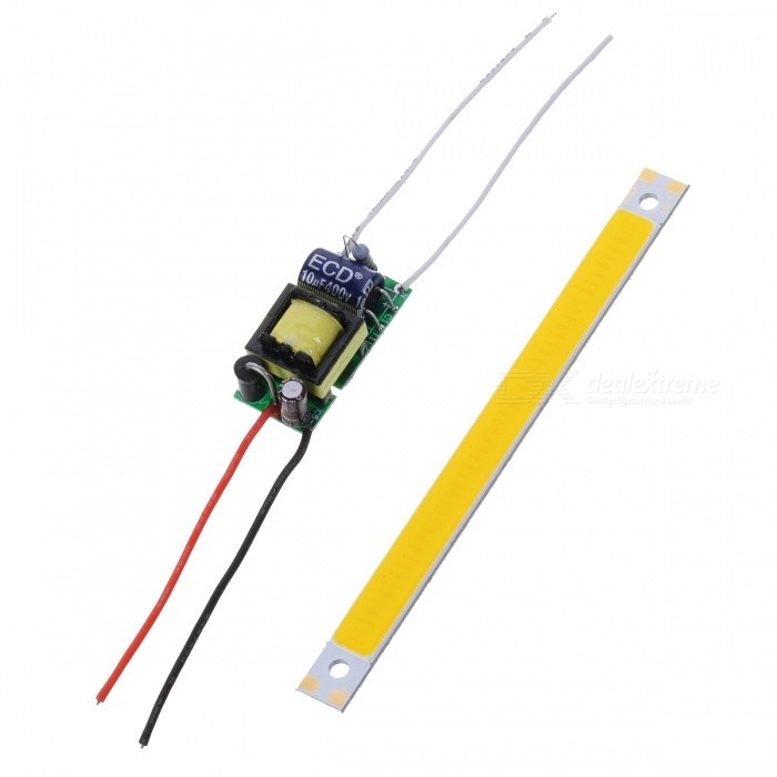 JRLED 10W 48-COB LED Light Module w/ Driver -  White+Multicolored