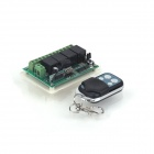 ZnDiy-BRY-DC-12V-4-CH-Learning-Code-Remote-Control-Switch-Green