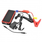 T7 44.4WH Car Emergency Jump Starter Dual USB LED Torch - Black + Red