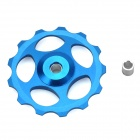 BH-01 Aluminum Alloy Bike Rear Derailleur Guide Pulley Wheel - Blue