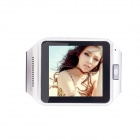 P6 Touch Screen Android Bluetooth Smart Watch w/ 1.3MP Camera - Black