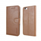 MO.MAT Medo PU + PC Wallet Case for IPHONE 6 - Brown