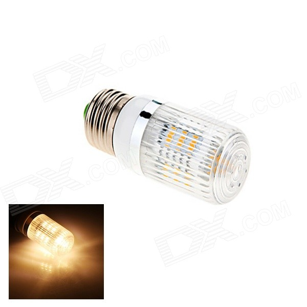 E27 6W 270lm 27*SMD 5630 Warm White Light Lamp Bulb w/ Filter Shell