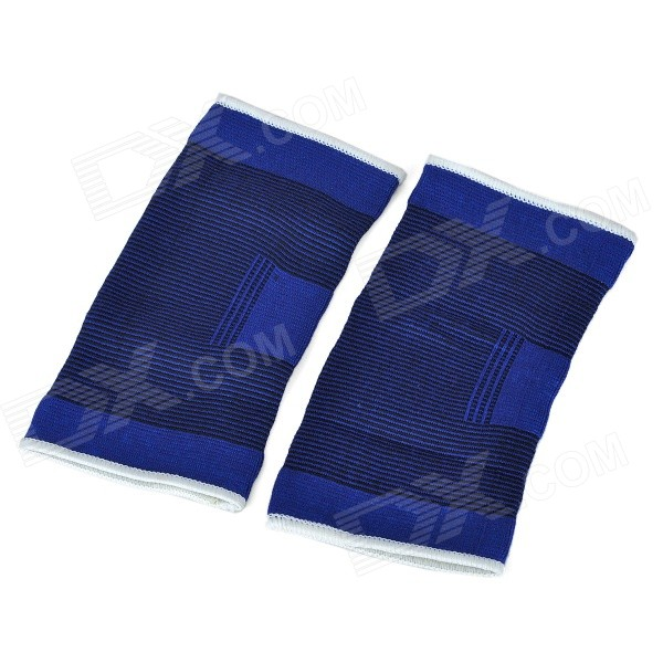PF08 Outdoor Sports Protective Elbow Supports - Blue (Pair)