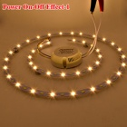40W 2500lm 180' 80*5730 SMD Cool White+Warm White Dimmable Light