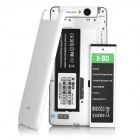 X-BO V5 Android 4.4.2 3G Phone w/ 512MB RAM, 4GB ROM - White + Silver