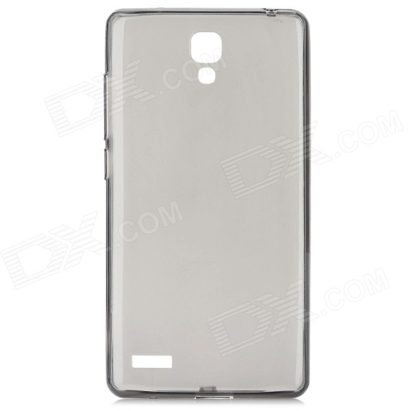 Buy Back Case + Screen Protector for Xiaomi Redmi Note - Translucent Black with Litecoins with Free Shipping on Gipsybee.com