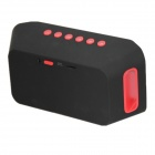 KR3300 Bluetooth V2.1 Speaker w/ USB 3.0 / TF Slot - Black