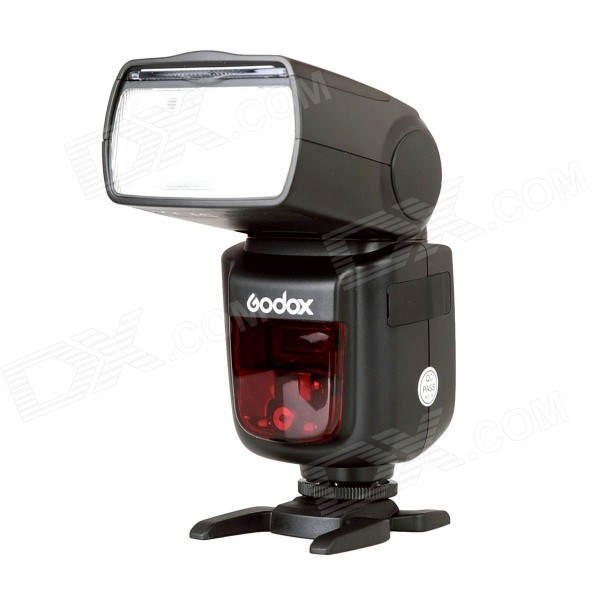 Godox V860N 1/8000s Camera Flash Speedlite for Nikon - BlackLighting and Flash<br>Form ColorBlackModelV860NMaterialABSQuantity1 DX.PCM.Model.AttributeModel.UnitCompatible BrandNikonCompatible ModelsNikon / D7100 / D7000 / D5200 / D5100 / D5000 / D3100 / D3000 / D90 / D80 / D70 / D70s / D40 / D800E / D800 / D700 / D300s / D300 / D200 / D2X / D2H / D200 / D1H / D1X / D3X / D3Actual Lumens1000 DX.PCM.Model.AttributeModel.UnitTheoretical Lumens1000 DX.PCM.Model.AttributeModel.UnitTypeOthers,SpeedliteTTL Mode   i-TTLGNGN58 DX.PCM.Model.AttributeModel.UnitColor Temperature5600+/-200kMax Sync Speed1/8000 DX.PCM.Model.AttributeModel.UnitRecycle timeWorking Voltage   11.1 DX.PCM.Model.AttributeModel.UnitPower10 DX.PCM.Model.AttributeModel.UnitLED Quantity1 DX.PCM.Model.AttributeModel.UnitBattery TypeLi-ion batteryBattery included or notYesBattery Quantity1 DX.PCM.Model.AttributeModel.UnitCertificationCEOther FeaturesScreen Type: LCD; Screen Size: 2.1 inch; Flash Coverage: 24 to 105mm (14mm with wide panel); Auto zoom (Flash coverage set automatically to match the lens focal length and image size); Manual zoom; Swinging/tilting flash head (bounce flash): 0 to 360 degree horizontally and -7~90 degree vertically; Flash Duration; 1/300 to 1/20000 seconds; Exposure control system: i-TTL autoflash and manual flash.<br>Wireless flash function: Master, Slave, Off, S1/S2 optic triggering; Controllable slave groups: 3 (A, Band C); Transmission range (approx.): Indoors: 12~15 m / 39.4~49.2ft; Outdoors: 8~10 m / 26.2~32.8ft; Master unit reception angle: +/-40 degree horizontal, +/-30 degree vertical; Power source: 11.1V/2000mAh Li-ion polymer battery; Full power flash times: approx. 650.Packing List1 x Godox flash1 x Li-ion battery (11.1V/2000mAh)1 x Velvet pouch1 x Mini stand1 x Battery charger (Input: AC 100~240V 50/60Hz 0.3A; Output: 12.6V, 0.85A)1 x Charging cable (length: 120cm)1 x Chinese / English user manual<br>