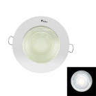 WaLangTing 180' 5W 6000K 600lm White Light LED Ceiling Lamp w/ Driver