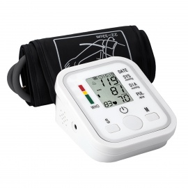 B02R 2.2quot LCD Upper Arm Blood Pressure Monitor w/ ComFit Cuff
