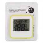 "DC206 Household Indoor 2.2"" LCD Thermometer - White (1 * L1154)"